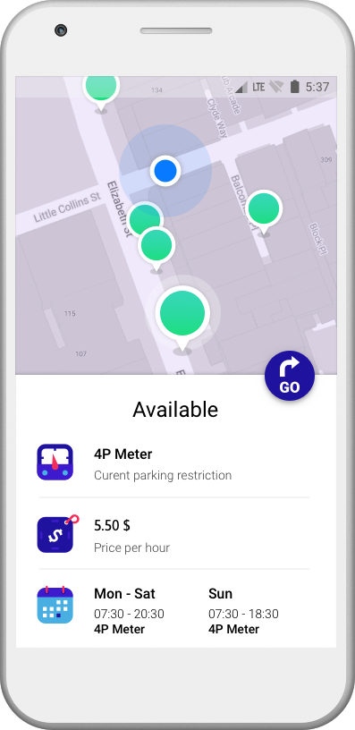 Parking Spot App >> Melberry App Find A Parking Spot Faster And Easier